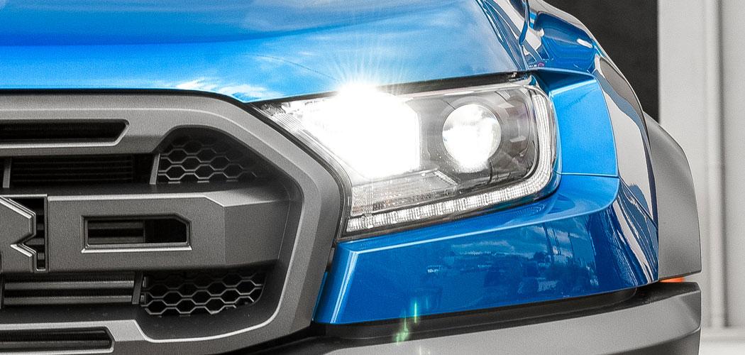 Ford Ranger Raptor LED High Beam Upgrade