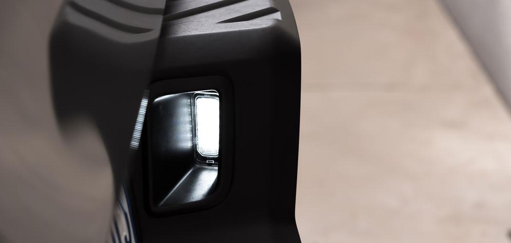 Ford Ranger Raptor LED License Plate Light Assembly