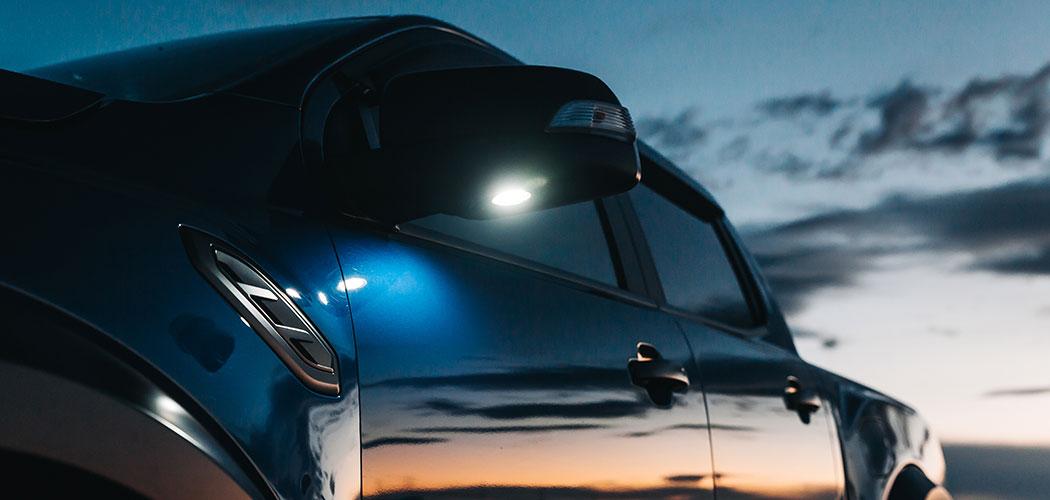 Ford Ranger Raptor LED Puddle Light Upgrade