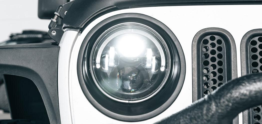 STEDI 7 Inch IRIS LED Headlight replacement