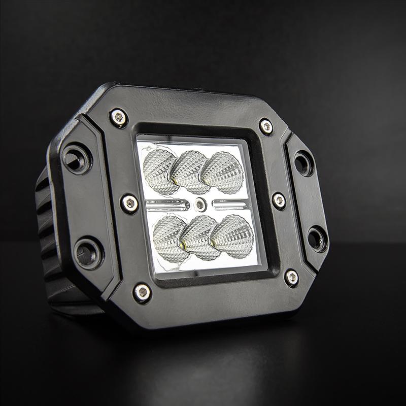CREE 18 Watt Flush Mount LED Flood Reverse Lights eBay