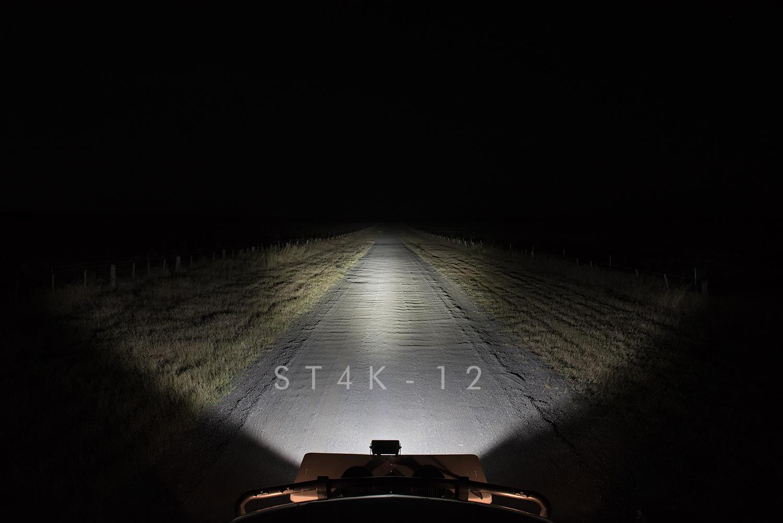Night Shot ST4K-12 LED Light Bar