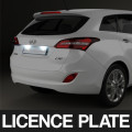 LED LICENCE PLATE - $21.00