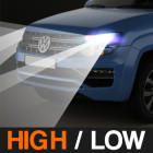 HIGH / LOW BEAM COMBO (SINGLE HEADLAMP) - $149.99