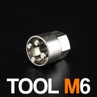 M6 Anti-Theft Nut Tool - $5.00
