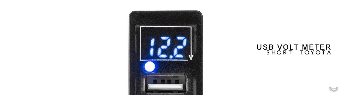 USB Volt Meter to suit Toyota