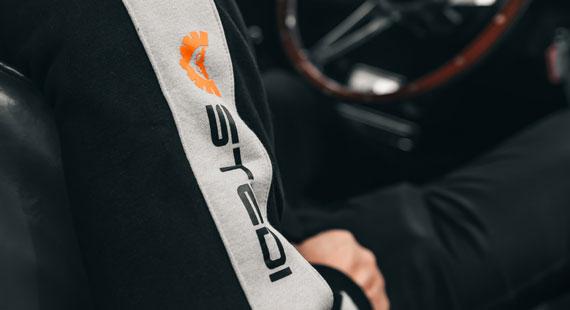 STEDI Sleeve Hoodie Jumper Side Design