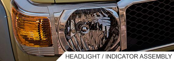 Landcruiser 70 Series Headlight Unit