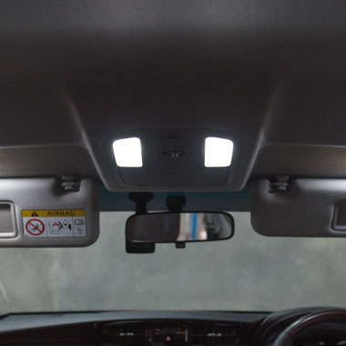 Fortuner LED Map Light Upgrade