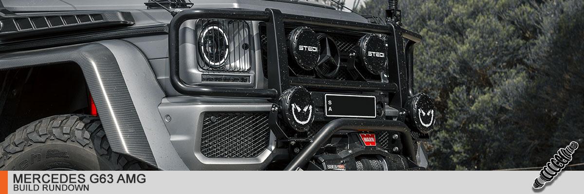 Mercedes Brabus G63 AMG Build Rundown