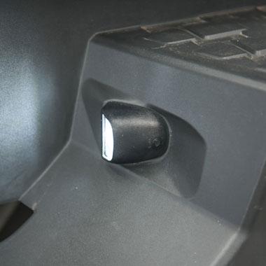 Holden Colorado RG LED Number Plate Light Upgrade