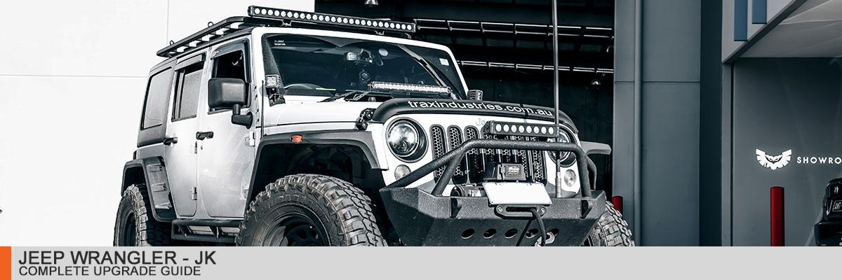Jeep JK Wrangler Complete Upgrade Guide