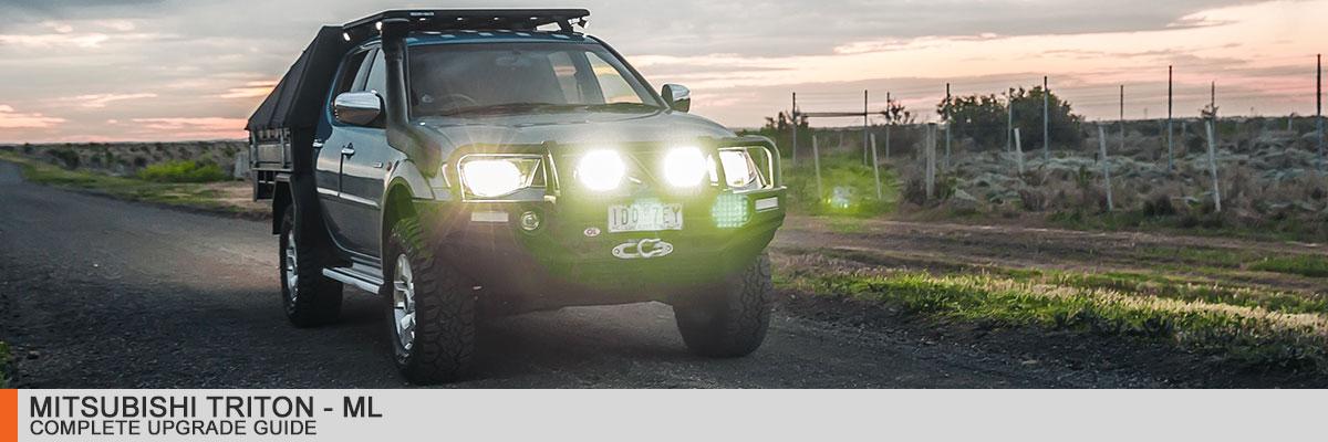 Mitsubishi ML Triton Complete LED Upgrade Guide