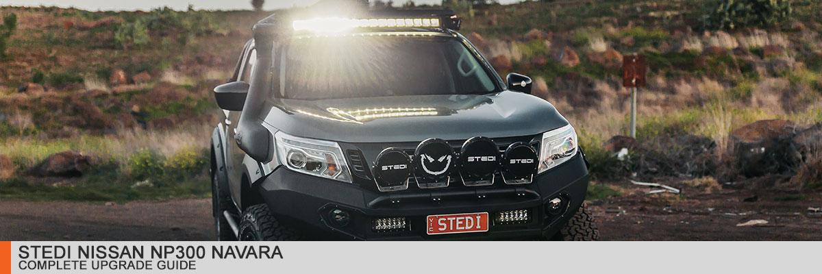 STEDI Nissan NP300 Navara Build Complete Modification List