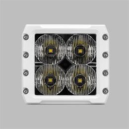 C4 Cube LED Light Marine White Flood Beam