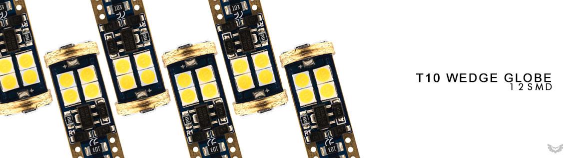 STEDI T10 12SMD LED Conversion Globes 10 Pack