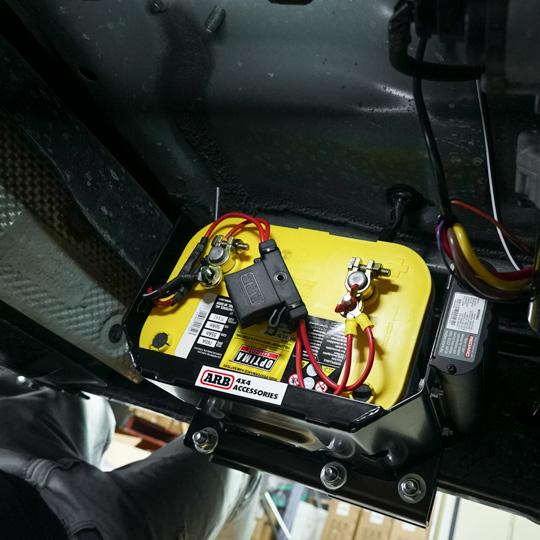 Navara ARB Dual Battery with REDARC