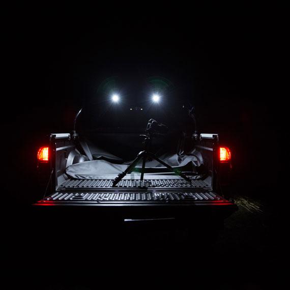 Rear Tub Lights turned on at Night NP300