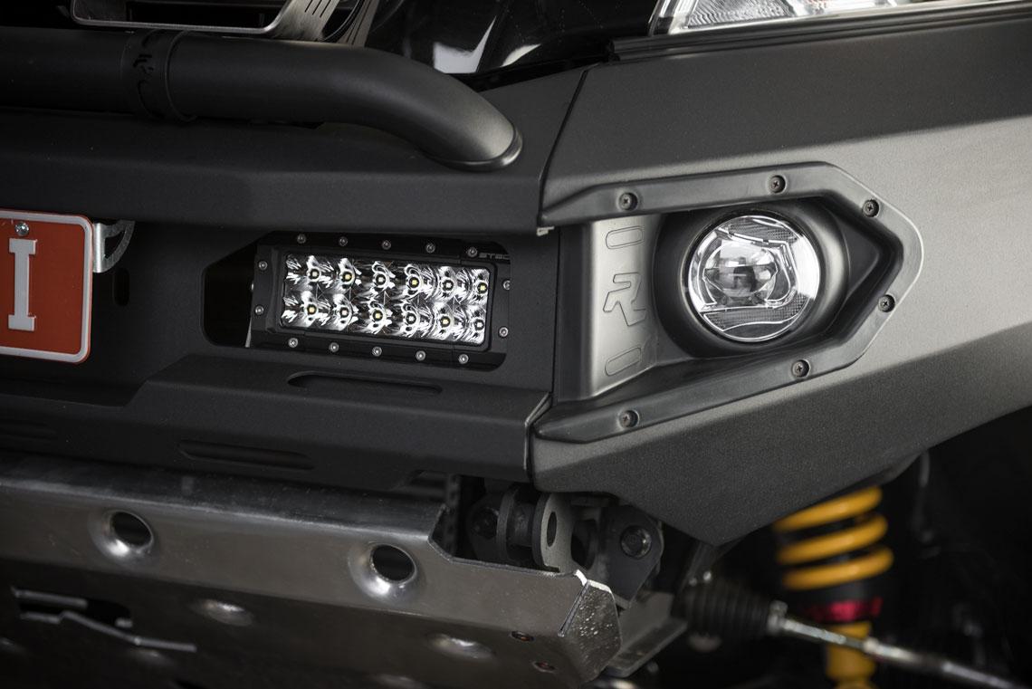 LED fog Light upgrade for Nissan NP300