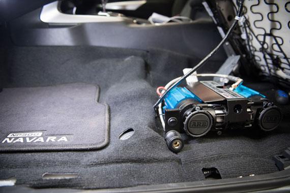 Nissan Navara NP300 Twin Compressor Installation