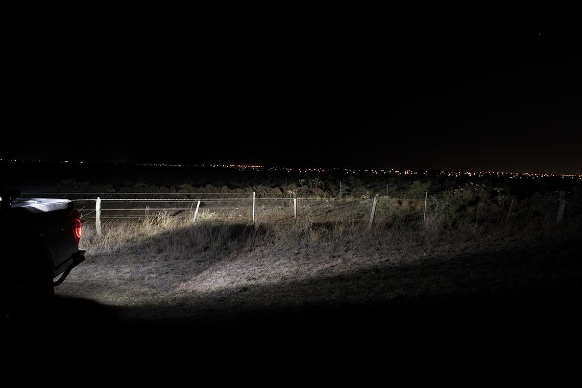Reverse Lights on Navara NP300