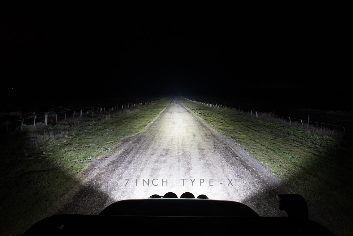 7 inch Type-X Night Shot