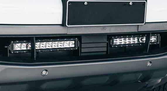 Ranger PX3 and Everest Lower Grille LED Light Bar Kit