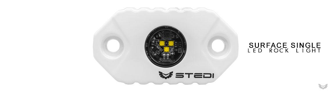 STEDI LED Surface Rock Light Marine White