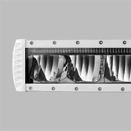 ST2K 31 Inch Marine White Curved LED Light Bar