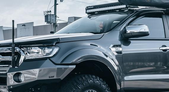 STEDI ST3301 Ford Ranger Roof Mount Rhino Rack