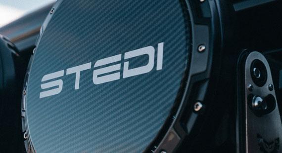 STEDI Type X 8.5 Carbon Print Cover