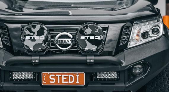 STEDI Type X 8.5 Snow Camo Cover