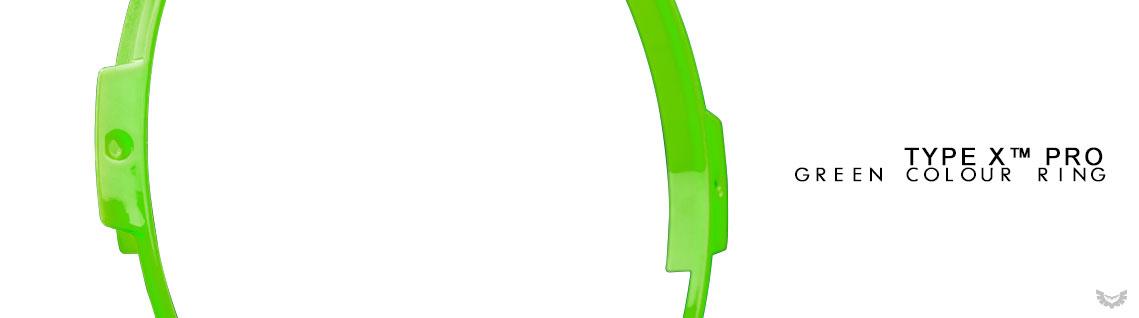 STEDI Type X Pro Green Colour Ring