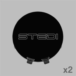 Included Type X Sport STEDI Covers Black Stencil