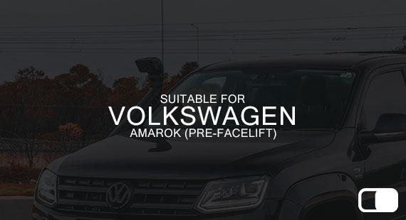 Suitable for Volkswagen Amarok (pre facelift)